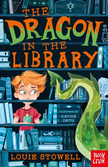 Q&A with Louie Stowell – author of The Dragon in the Library (WARNING – includes poo and a weird space dust-eating creature)
