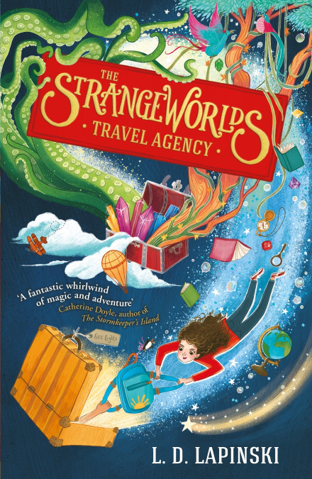 The Strangeworlds Travel Agency by L.D. Lapinski