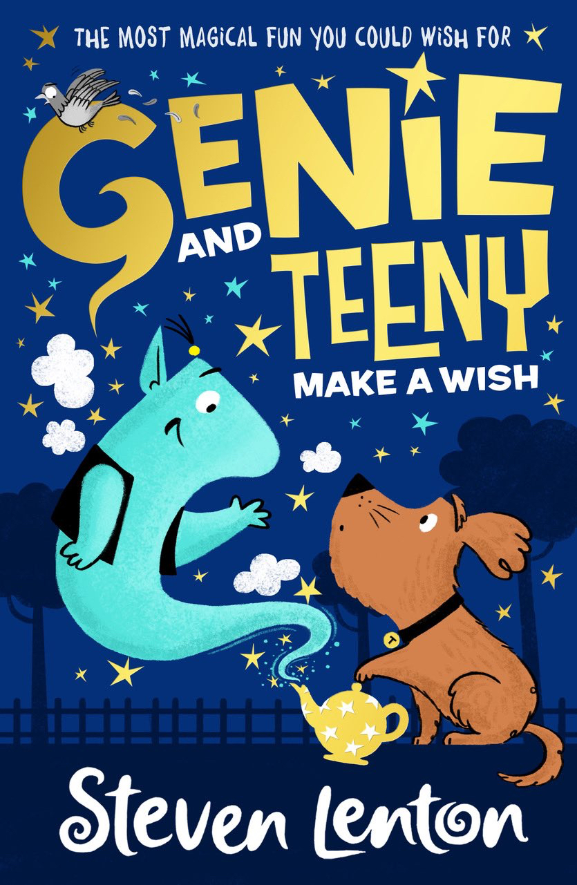Genie and Teeny Make A Wish by Steven Lenton, reviewed by Caitlin