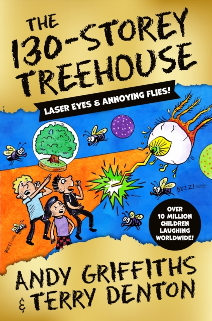 The 130-Storey Treehouse by Andy Griffiths and Terry Denton, reviewed by Ozzy