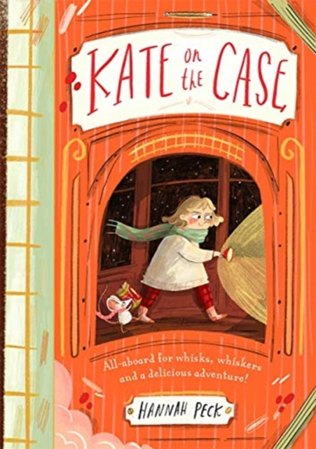 Kate on the Case by Hannah Peck, reviewed by Harriet