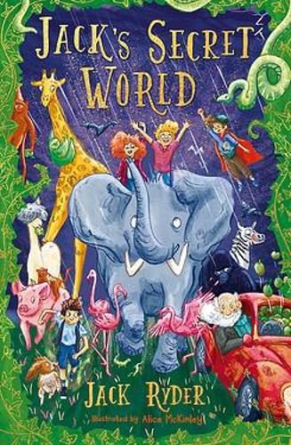 Jack's Secret World by Jack Ryder and Alice McKinley, reviewed by Niamh