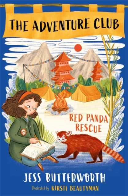 The Adventure Club: Red Panda Rescue by Jess Butterworth, reviewed by Katy