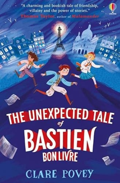 The Unexpected Tale of Bastien Bonlivre by Clare Povey, reviewed by Rosa